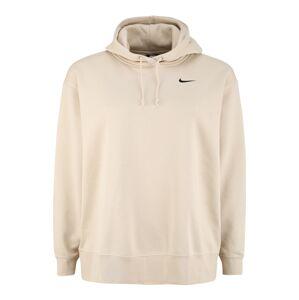 Nike Sportswear Mikina  béžová / čierna