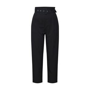 ABOUT YOU Plisované nohavice 'Charlie'  čierna