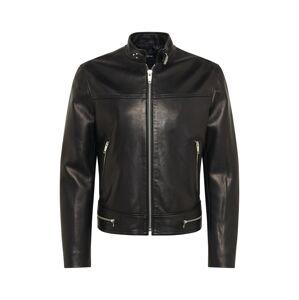 The Kooples Prechodná bunda  čierna