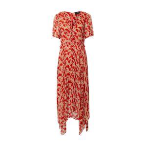 The Kooples Letné šaty 'ROBE'  telová / červená