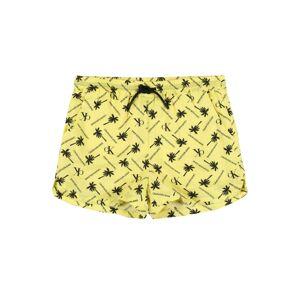 Calvin Klein Jeans Nohavice  žltá