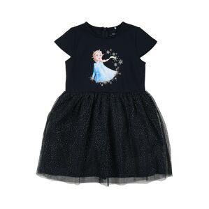 NAME IT Šaty 'Frozen Rebec'  námornícka modrá / svetlomodrá