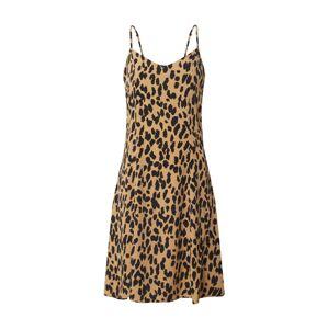 Fabienne Chapot Letné šaty 'Sunny Dress'  čierna / hnedá