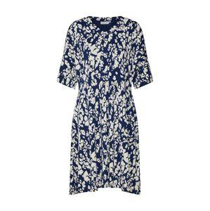 Masai Letné šaty 'Naby'  biela / kráľovská modrá