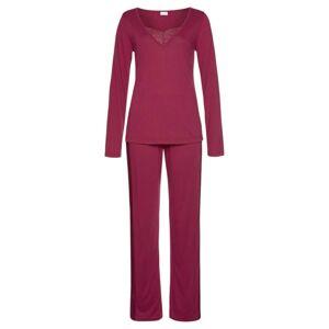 LASCANA Pyžamo  pastelovo červená