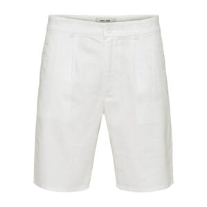 Only & Sons Chino nohavice  biela
