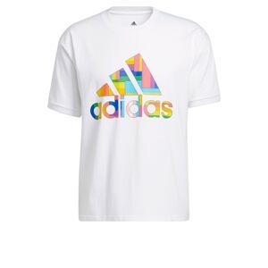 ADIDAS PERFORMANCE Funkčné tričko  biela / zmiešané farby