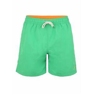 POLO RALPH LAUREN Plavecké šortky 'Traveler'  neónovo zelená