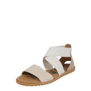 SOREL Sandále 'ELLA'  biela / béžová