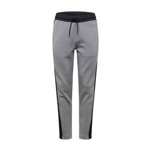 Calvin Klein Nohavice  sivá / námornícka modrá / čierna