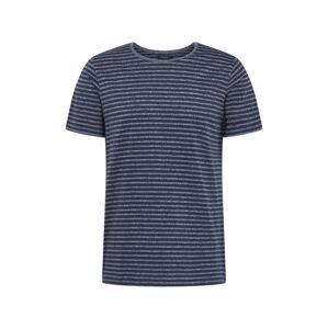 Matinique Tričko 'Jermane'  námornícka modrá / sivá melírovaná