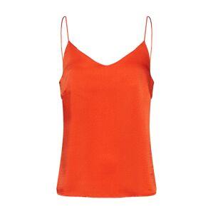 VILA Top 'JUANA'  oranžovo červená