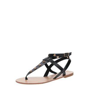 ABOUT YOU Sandále 'Stine'  čierna