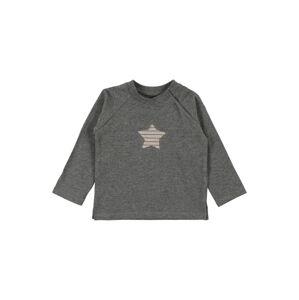 BELLYBUTTON Tričko  svetlohnedá / sivá melírovaná