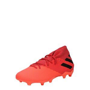 ADIDAS PERFORMANCE Kopačky 'Nemeziz 19.3'  červená / čierna / koralová / oranžová / pastelovo červená