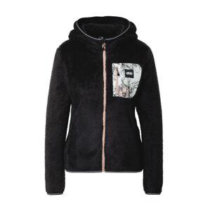 Picture Organic Clothing Funkčná flisová bunda  čierna / biela / rosé