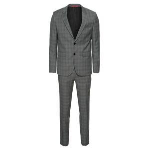 HUGO Oblek  sivá