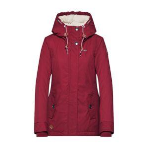 Ragwear Prechodná bunda 'MONADE'  vínovo červená