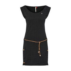 Ragwear Letné šaty 'TAG DOTS'  zmiešané farby / čierna