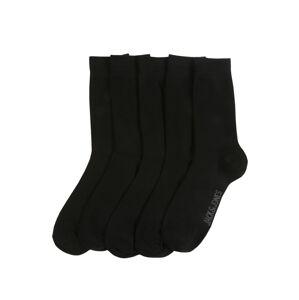 JACK & JONES Ponožky  čierna