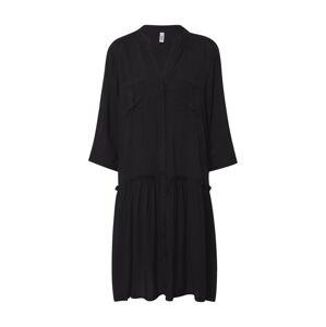 Soyaconcept Košeľové šaty 'RADIA-68'  čierna