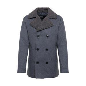 INDICODE JEANS Zimný kabát 'Titouan'  sivá