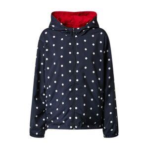 Hailys Prechodná bunda 'Leslie'  červená / modrá / biela / čierna