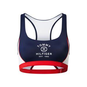 Tommy Hilfiger Underwear Bikinový top  tmavomodrá / biela / červená