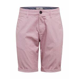 TOM TAILOR Chino nohavice  červená