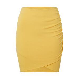EDITED Sukňa 'Paisley'  žltá