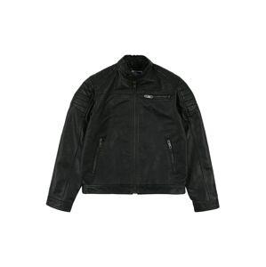 Jack & Jones Junior Prechodná bunda 'Rocky'  čierna