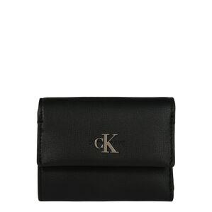 Calvin Klein Jeans Peňaženka 'CKJ MONO HARDWARE MED TRIFOLD'  čierna