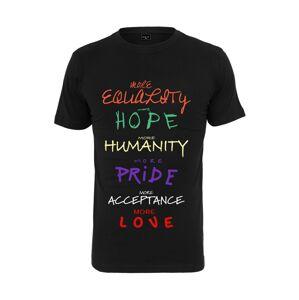 Mister Tee Tričko 'More Equality'  zmiešané farby