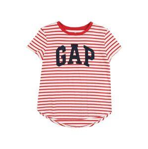 GAP Tričko  červená / biela
