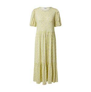 Envii Šaty 'ENMANON'  žltá / svetlofialová