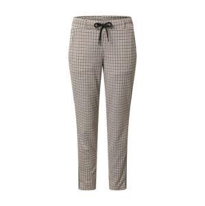 TOM TAILOR Chino nohavice  biela / námornícka modrá / hnedá