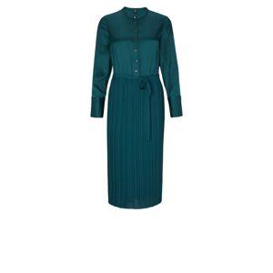 s.Oliver BLACK LABEL Košeľové šaty  smaragdová