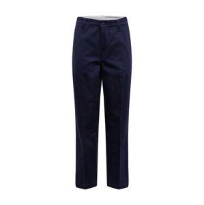 LEVI'S Chino nohavice 'STRAIGHTCROPCHINOII'  námornícka modrá