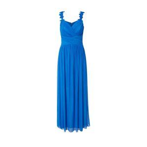 Lipsy Večerné šaty 'WS FLWR STRP MAXI'  modrá