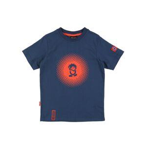 TROLLKIDS Funkčné tričko  modrá / oranžová