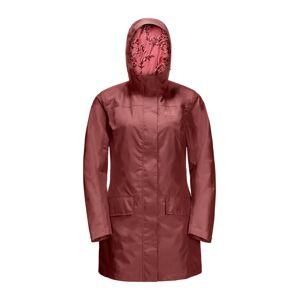 JACK WOLFSKIN Outdoorová bunda 'YORK'  hrdzavo červená
