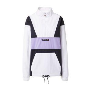 ELLESSE Prechodná bunda 'Sophia'  čierna / fialová / biela