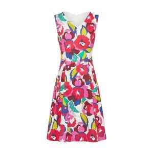 RENÉ LEZARD Kokteilové šaty  zmiešané farby