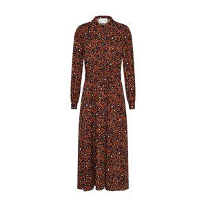 JUST FEMALE Košeľové šaty 'Vilja'  hnedá