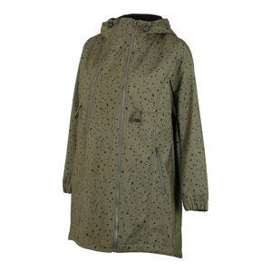 MAMALICIOUS Prechodný kabát 'Shella Dota'  čierna / olivová