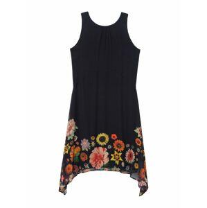 Desigual Letné šaty 'LUGANO'  čierna / zmiešané farby