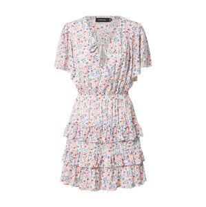 MINKPINK Letné šaty 'HEAT WAVE'  biela / rosé / námornícka modrá