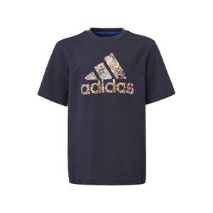 ADIDAS PERFORMANCE Funkčné tričko 'B Art Tee'  modrá / zmiešané farby