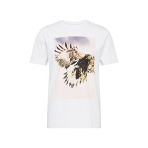 BOSS Tričko 'Tomio 4'  biela / zmiešané farby