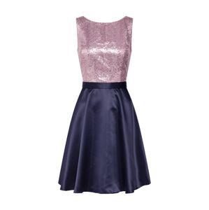 VM Vera Mont Kokteilové šaty  tmavomodrá / orgovánová
